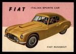 1954 Topps World on Wheels #122   Fiat Front Thumbnail