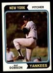 1974 Topps #463  Pat Dobson  Front Thumbnail