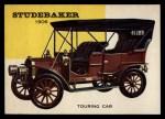 1954 Topps World on Wheels #53   Studebaker Touring Car 1906 Front Thumbnail