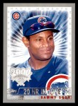 2000 Topps Opening Day #162   -  Sammy Sosa Magic Moments Front Thumbnail