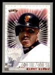 2000 Topps Opening Day #161   -  Barry Bonds Magic Moments Front Thumbnail