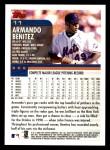 2000 Topps Opening Day #11  Armando Benitez  Back Thumbnail