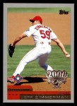 2000 Topps Opening Day #96  Jeff Zimmerman  Front Thumbnail