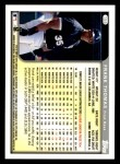 1999 Topps Opening Day #156  Frank Thomas  Back Thumbnail