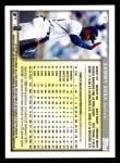 1999 Topps Opening Day #37  Sammy Sosa  Back Thumbnail