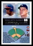 1999 Topps Opening Day #164  Sammy Sosa  Back Thumbnail