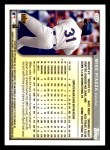 1999 Topps Opening Day #139  Mike Piazza  Back Thumbnail
