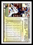 1999 Topps Opening Day #45  Jose Canseco  Back Thumbnail