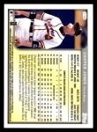 1999 Topps Opening Day #116  Chipper Jones  Back Thumbnail