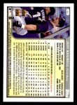 1999 Topps Opening Day #86  Jeff Bagwell  Back Thumbnail