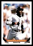 1993 Topps Traded #1 T Barry Bonds  Front Thumbnail