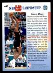 1992 Upper Deck #446   -  Harold Miner In Your Face Back Thumbnail