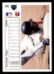 1991 Upper Deck #255  Tony Gwynn  Back Thumbnail