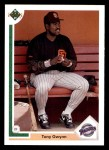 1991 Upper Deck #255  Tony Gwynn  Front Thumbnail