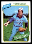 1980 Topps #506  Tom Buskey  Front Thumbnail