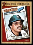 1987 Topps #312   -  Reggie Jackson Turn Back The Clock Front Thumbnail