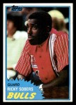 1981 Topps #8  Ricky Sobers  Front Thumbnail