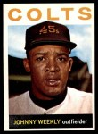 1964 Topps #256  Johnny Weekly  Front Thumbnail