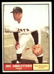 1961 Topps #87  Joe Amalfitano  Front Thumbnail