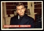 1956 Topps Davy Crockett #43   Congressman Crockett  Front Thumbnail