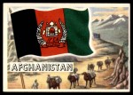 1956 Topps Flags of the World #46   Afghanistan Front Thumbnail