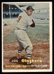 1957 Topps #236  Joe Ginsberg  Front Thumbnail