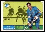 1968 Topps #117  Gary Sabourin  Front Thumbnail