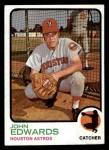 1973 Topps #519  Johnny Edwards  Front Thumbnail