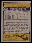 1979 Topps #88  Ralph Perretta  Back Thumbnail