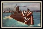 1954 Bowman Power for Peace #93   Atomic Submarine - USS Nautilus Front Thumbnail
