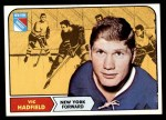 1968 Topps #74  Vic Hadfield  Front Thumbnail