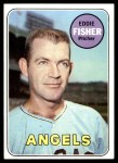 1969 Topps #315  Eddie Fisher  Front Thumbnail