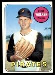 1969 Topps #36  Luke Walker  Front Thumbnail