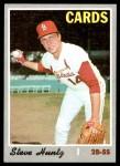 1970 Topps #282  Steve Huntz  Front Thumbnail