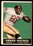 1961 Topps #133  Abner Haynes  Front Thumbnail