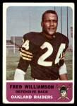 1962 Fleer #74  Fred Williamson  Front Thumbnail
