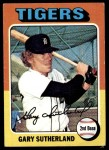 1975 Topps #522  Gary Sutherland  Front Thumbnail