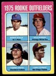 1975 Topps #619   -  Benny Ayala / Jerry Turner / Nyls Nyman / Tommy Smith Rookie Outfielders   Front Thumbnail