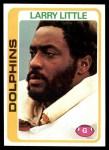 1978 Topps #322  Larry Little  Front Thumbnail