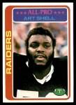 1978 Topps #460  Art Shell  Front Thumbnail
