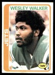 1978 Topps #327  Wesley Walker  Front Thumbnail