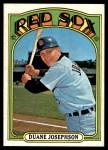 1972 Topps #543  Duane Josephson  Front Thumbnail