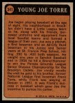 1972 Topps #341   -  Joe Torre Boyhood Photo Back Thumbnail