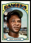 1972 Topps #329  Roy Foster  Front Thumbnail
