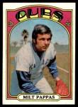 1972 Topps #208  Milt Pappas  Front Thumbnail