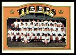 1972 Topps #487   Tigers Team Front Thumbnail