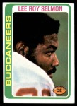 1978 Topps #314  Lee Roy Selmon  Front Thumbnail
