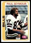 1978 Topps #424  Paul Seymour  Front Thumbnail