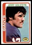 1978 Topps #432  Jerry Golsteyn  Front Thumbnail