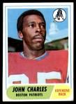 1968 Topps #202  John Charles  Front Thumbnail